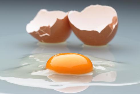 אכילת ביצים שלמות, כולל החלמון והחלבון, דווקא יכולה לעזור לדיאטה (צילום: gettyimages)