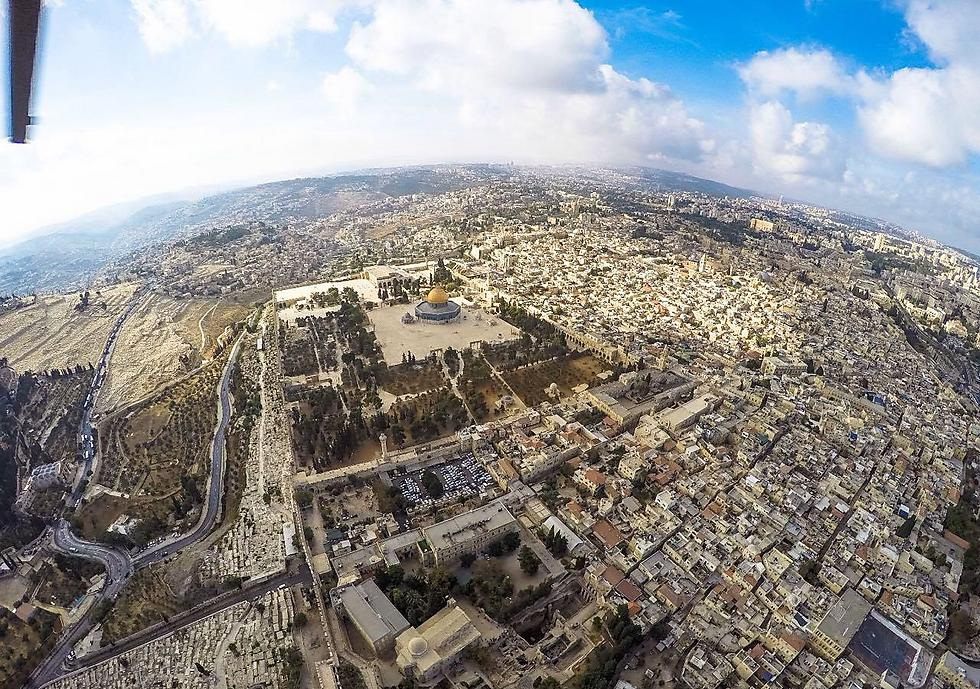 Old City and the holy sites (Photo: Police Spokesperson's Unit) (Photo: Israel Police)