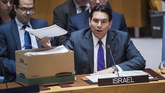 Israel Ambassador the UN Danny Danon (Courtesy: UN)