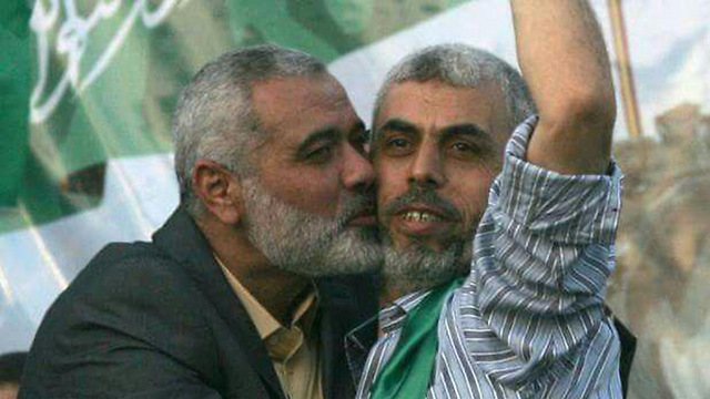 Sanwar with Haniyeh. Prefers to focus right now on improving relations with Egypt