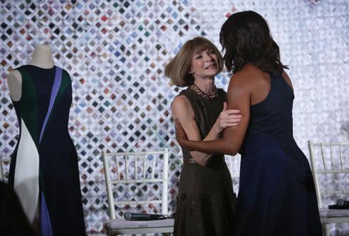 הפוליטיקה של האופנה. עם אנה ווינטור (צילום: Gettyimages)