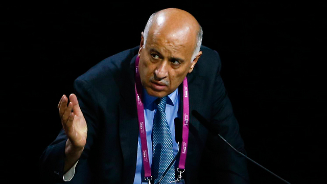 Palestinian Football Federation chief Rajoub said his national team would never play without its anthem and flag (Photo: Reuters)