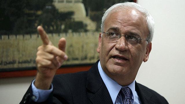 PLO Sec. Gen. Saeb Erekat (Photo: EPA)