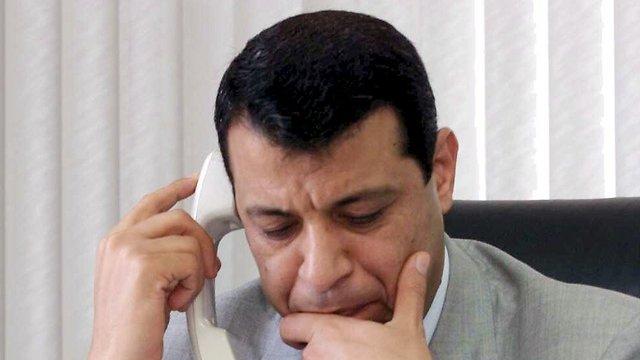 מוחמד דחלאן. תוכנית השתלטות בגיבוי מצרי (צילום: שאול גולן) (צילום: שאול גולן)