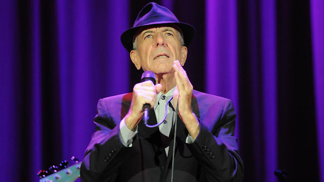 Leonard Cohen in concert (Photo: Yaron Brenner)