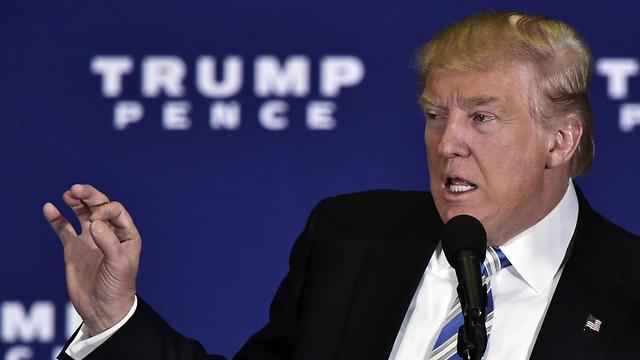 דונלד טראמפ. הותיר חותם גם במילון (צילום: AFP) (צילום: AFP)