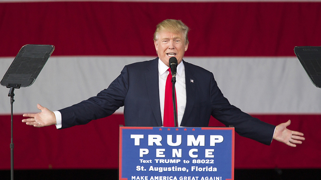 """עלול לסכן את הסדר הליברלי אם ייבחר לנשיא ארה""""ב. טראמפ  (צילום: AFP) (צילום: AFP)"""