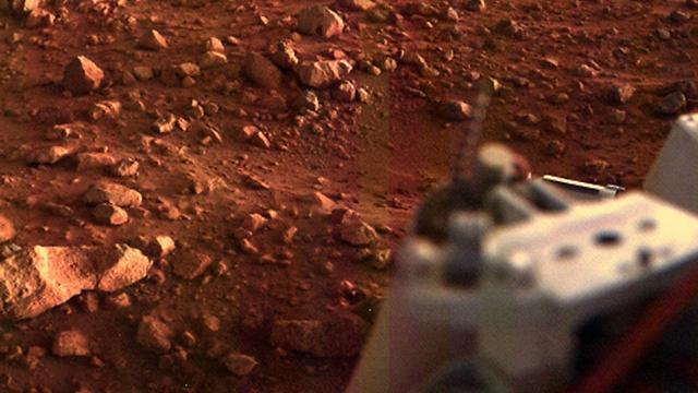 """ויקינג 1 (צילום: נאס""""א) (צילום: נאס"""