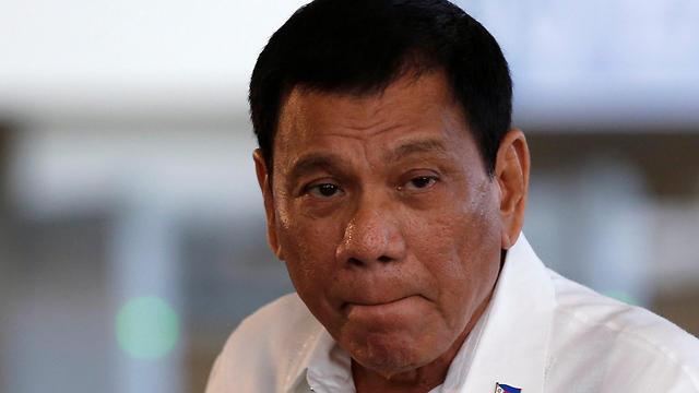 נשיא הפיליפינים רודריגו דוטרטה (צילום: רויטרס) (צילום: רויטרס)