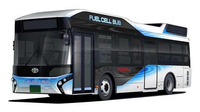 האוטובוס המימני של טויוטה - ללא זיהום כלל