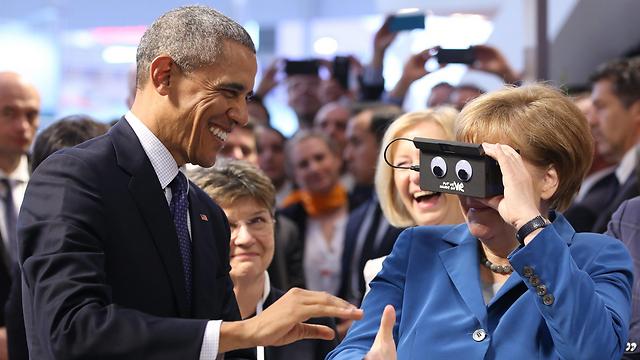 גם קנצלרית גרמניה אנגלה מרקל בעניין  (צילום: EPA)