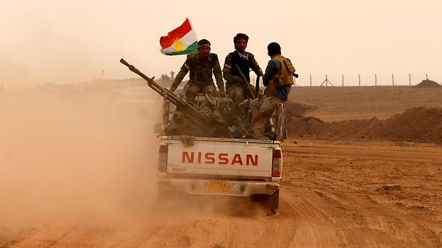 כוחות צבאיים כורדיים. לחמו בדאעש כשלרוסיה לא היה אכפת (צילום: רויטרס) (צילום: רויטרס)