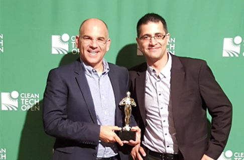 Motti Koren and Amir Tripman, CEO of MGT Industries (PR photo)
