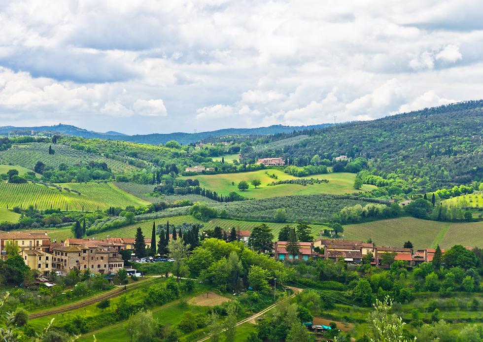 טוסקנה, איטליה: לא אופטימים (צילום: shutterstock)