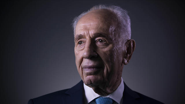 Shimon Peres in 2016 (Photo: AP) (Photo: AP)