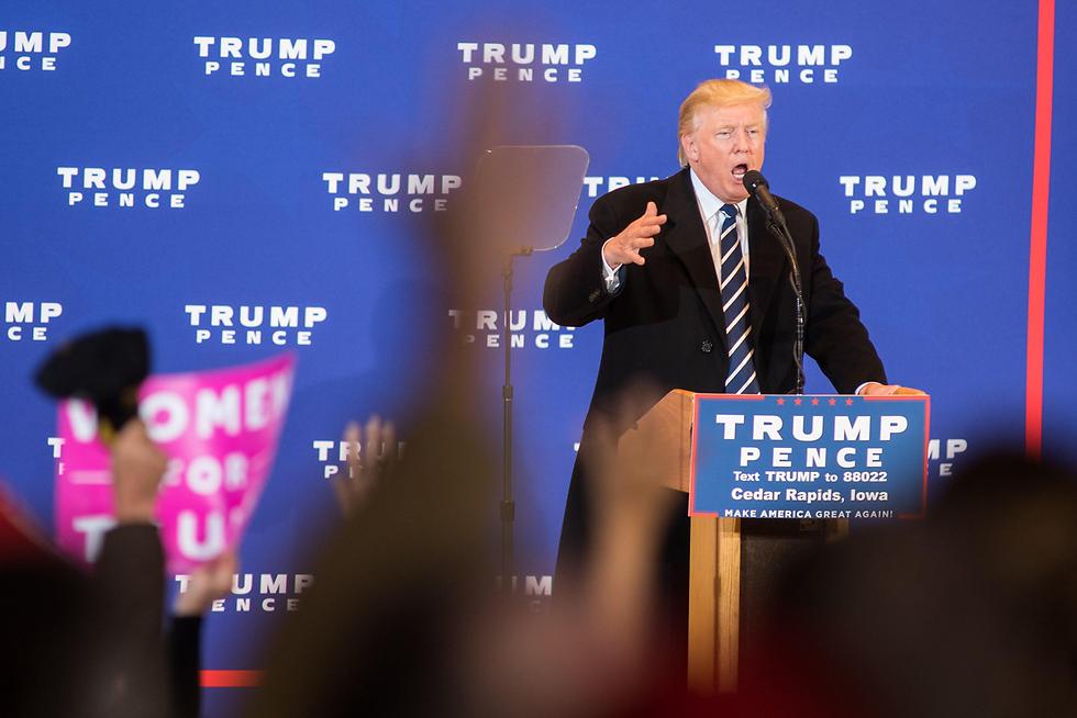"""""""מברך על האומץ של של ה-FBI"""". טראמפ הגיב במהירות (צילום: AFP) (צילום: AFP)"""