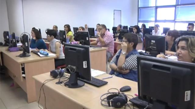 סטודנטים במכללה (ארכיון) (צילום: עידו ארז)