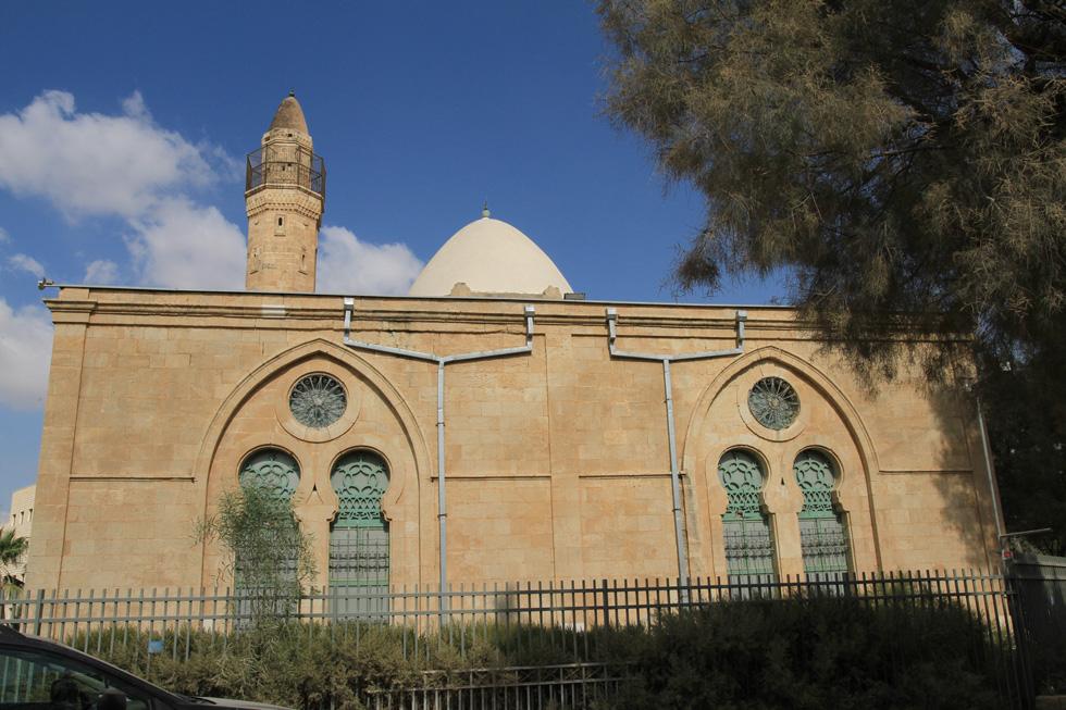 המסגד בעיר העתיקה בבאר שבע הוסב, למרות מחאה חריפה של הבדואים, למוזיאון. אדריכל השימור קובע: ''מבנה מושלם'' (צילום: מועצה לשימור אתרי מורשת בישראל, נטע רוזנבלט)