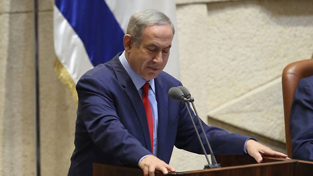 Netanyahu. The response proved that the State of Israel is being run by a paranoid person haunted by fears (Photo: Gil Yohanan)