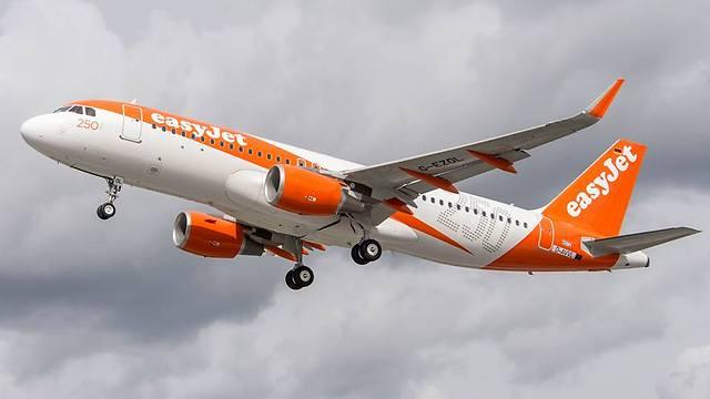 מטוס של חברת איזיג'ט (צילום: באדיבות easyjet) (צילום: באדיבות easyjet)