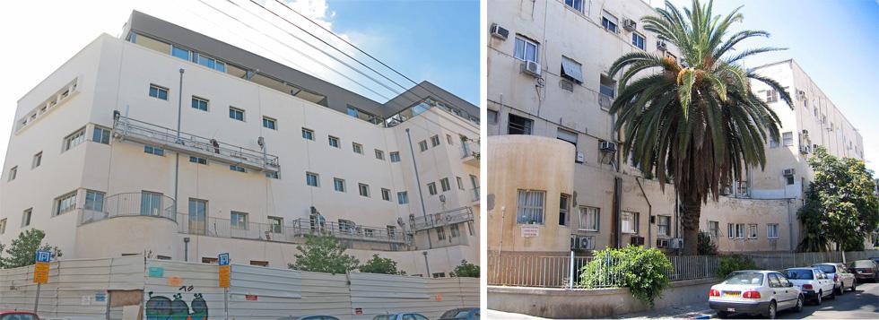 קופת חולים זמנהוף בתל אביב הייתה אחד הסמלים הבולטים של קופת חולים כללית. בקרוב ייכנסו לכאן דיירים חדשים בקומפלקס מפואר (צילום: Talmoryair / cc, דנה קופל)