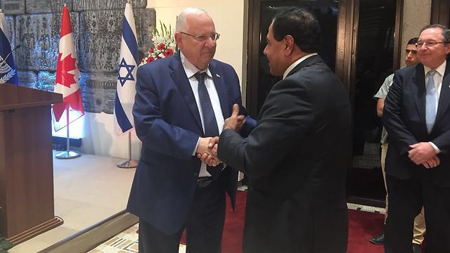 Meeting President Rivlin