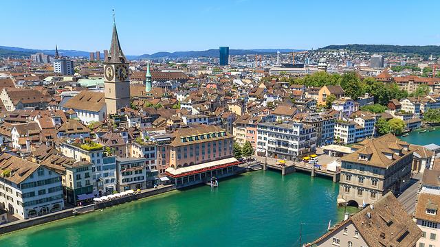 Des vacances relativement fraîches à Zurich, en Suisse (photo: shutterstock) (Photo: shutterstock)