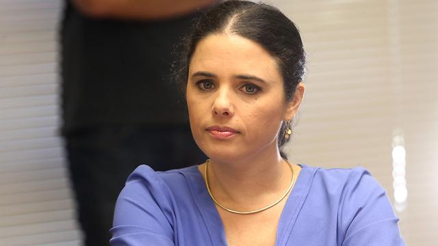 שרת המשפטים איילת שקד (צילום: אלכס קולומויסקי) (צילום: אלכס קולומויסקי)