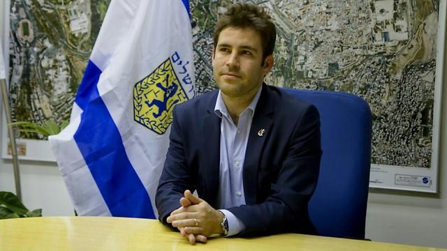 סגן ראש העירייה עופר ברקוביץ (צילום: שרון גבאי) (צילום: שרון גבאי)