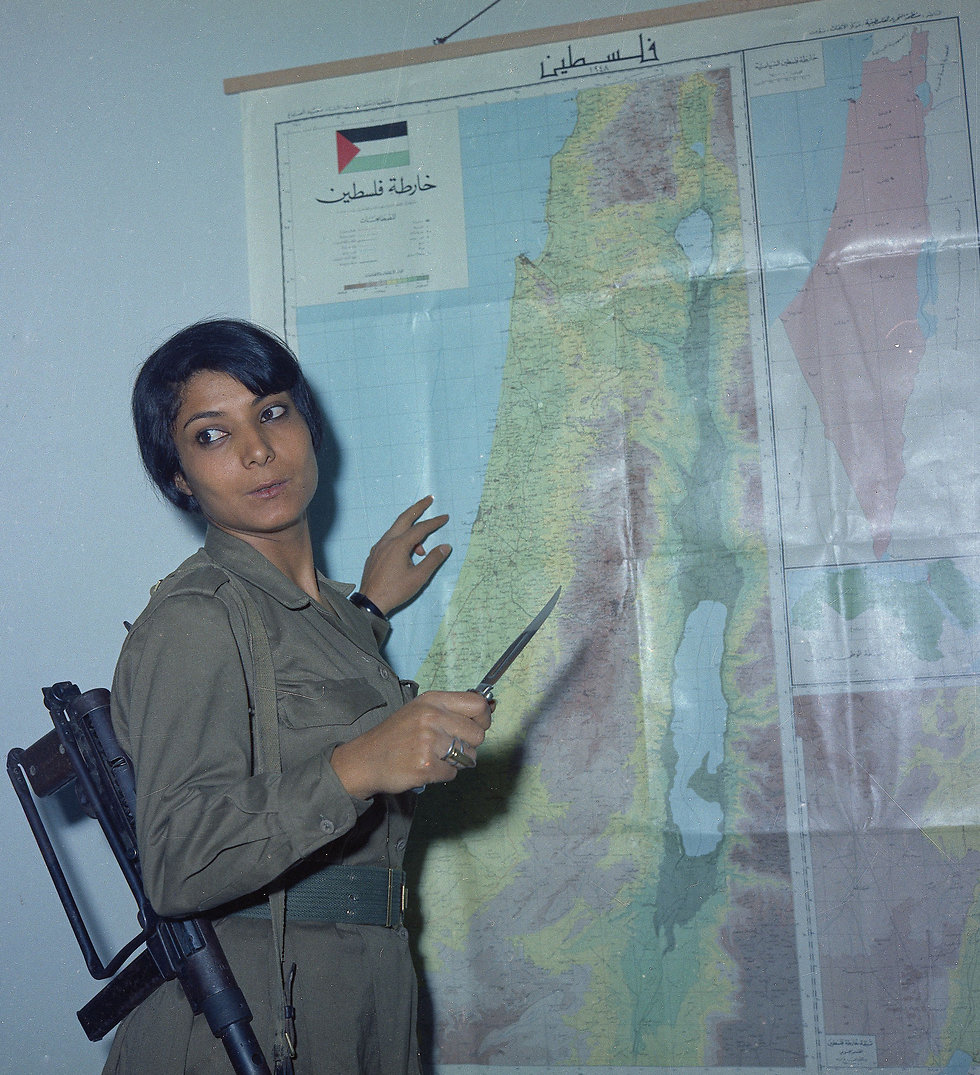 Terrorist Leila Khaled (Photo: AP)