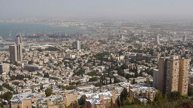 מפרץ חיפה (צילום: עידו ארז) (צילום: עידו ארז)