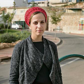 Elisheva Razvag. 'The absurdity of another evacuation is unreal' (Photo: Amit Shabi)