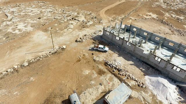 Site of cement plant (Photo: Regavim) (Photo: Regavim)