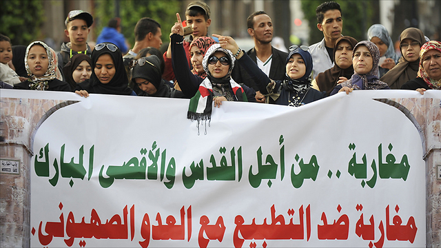 Protests in Morocco against Israel