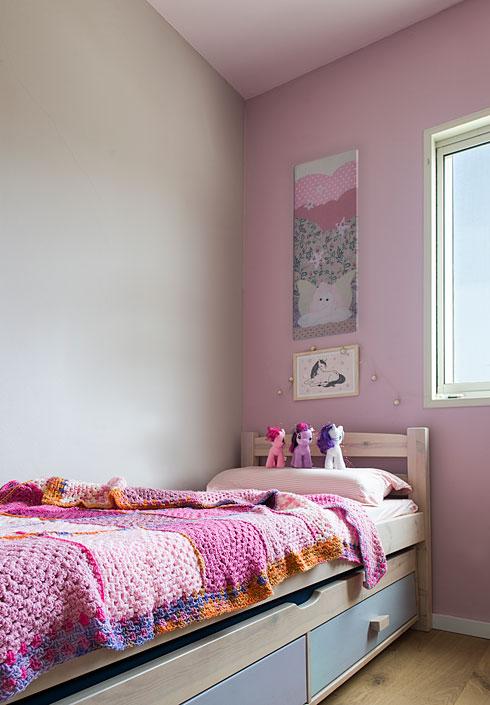 חדרה של הבת (צילום: שחר לוי)