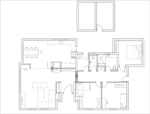 תוכנית הבית (שרטוט: תמי שלוש)