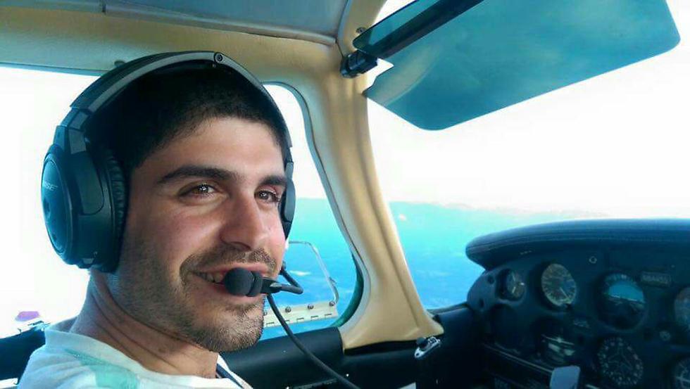 הטייס דותן סיטי הבחין בטעות של מגדל הפיקוח ומנע אסון (צילום: הטייס דותן סיטי) (צילום: הטייס דותן סיטי)