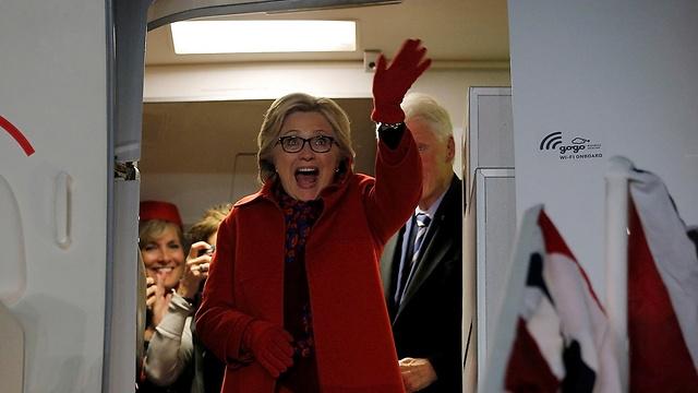 Hillary Clinton optimistic about her chances (Photo: Reuters)