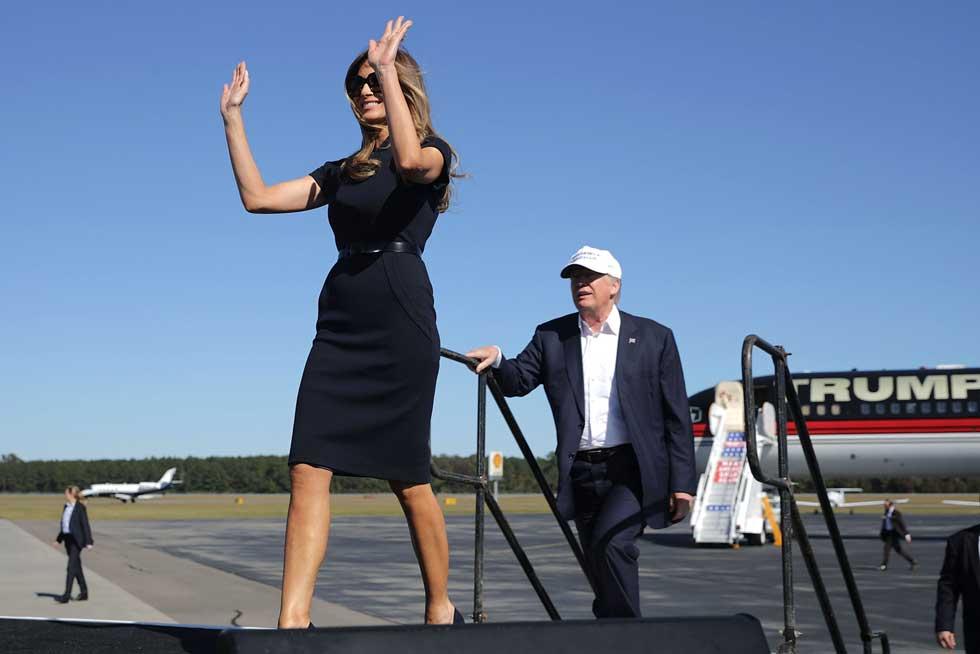 שותפה מלאה למסע הבחירות של טראמפ (צילום: Gettyimages)