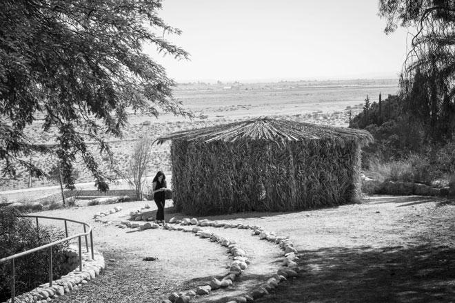 """אלעד בחאן בארותיים. """"צמחתי בתוך המרחב שחייתי בו"""" (צילום: מלי גולדפרב)"""