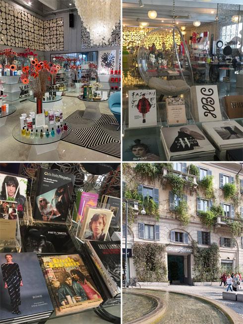 בית המקדש של האופנה במילאנו. חלל הקונספט קורסו קומו 10 (צילום: ענבל פרגר)
