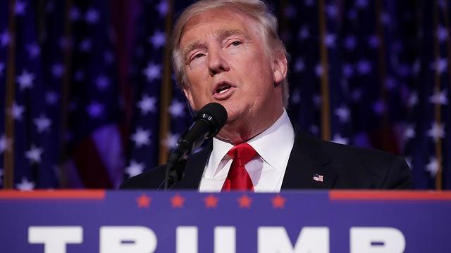 """""""הילרי, את חכמה וקשוחה מאוד"""". הנשיא הנבחר טראמפ (צילום: gettyimages) (צילום: gettyimages)"""