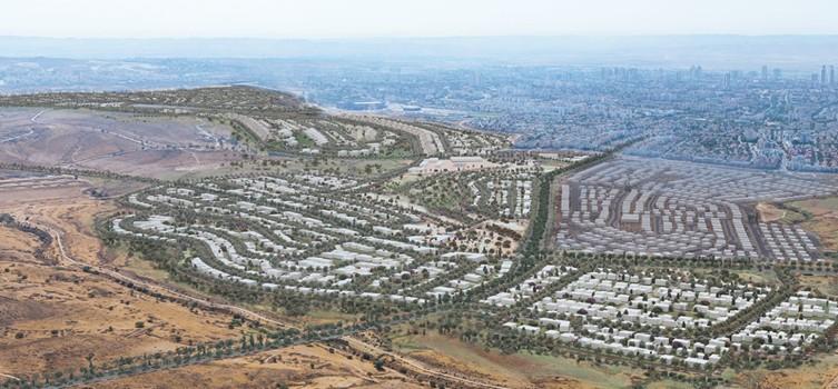 הדמיית שכונת הרקפות בבאר שבע (הדמיה: נעמה מליס, אדריכלות ובינוי ערים) (הדמיה: נעמה מליס, אדריכלות ובינוי ערים)