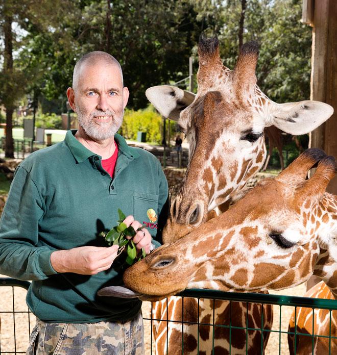 """""""את המילה 'חיות' אני לא אוהב: אני מעדיף 'בעלי חיים'. יש גם בני אדם שהם חיות"""". הקליקו על התמונה (צילום: ענבל מרמרי)"""