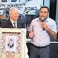 אלון דוידי בהילולה השנתית לרב צילום: באדיבות עיריית שדרות