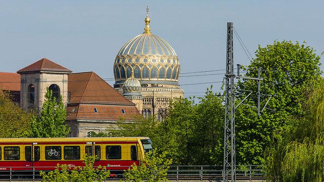 The new Berlin Synagogue (Photo: Shutterstock) (Photo: Shutterstock)