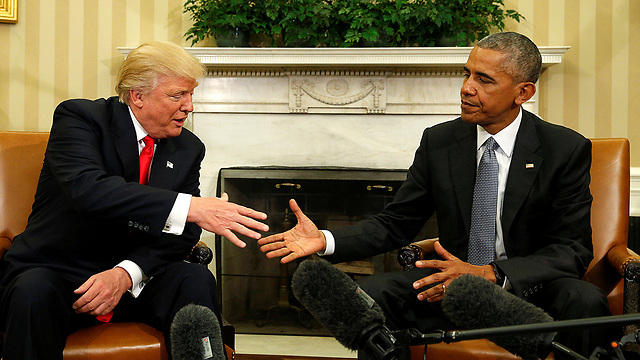 Trump (L) and US President Barack Obama (Photo: Reuters)
