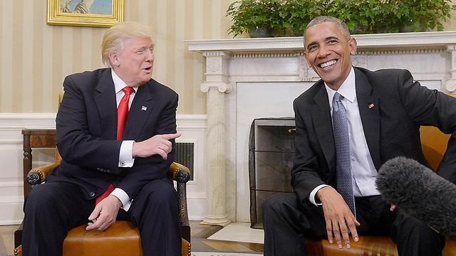 """סוף עונת החיוכים. טראמפ נגד אובמה בכל הכוח: """"אדם רע!"""" (צילום: MCT) (צילום: MCT)"""
