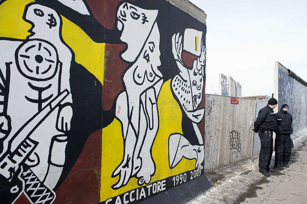 חומת ברלין (צילום: AFP) (צילום: AFP)