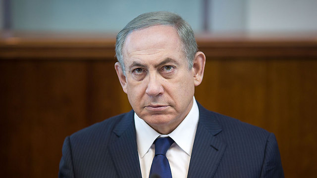 """ראש הממשלה נתניהו. ריבלין: """"מודאג לקיומה של תקשורת חופשית"""" (צילום: אמיל סלמן) (צילום: אמיל סלמן)"""